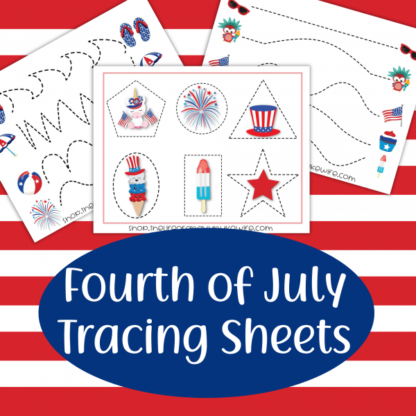 Fourth of July PreWriting Practice